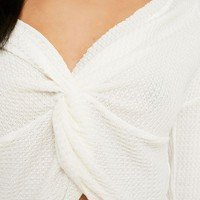 Out From Under Olivia Knot Thermal Top   Urban Outfitters