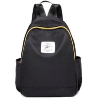 Zipper Two Side Pocket Backpack