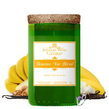 Banana Nut Bread | Jewelry Wine Candle®