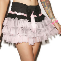 Only Punky Fall from Grace Ruffle Skirt