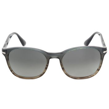 Persol Wayfarer Sunglasses PO3150S 101271 54 | Gray Acetate Frame | Gray Gradient Lenses