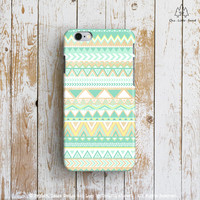 Tribal Geometric Pattern iPhone Case