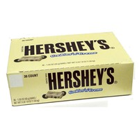 Hershey's Cookies and Creme Standard Bar Case of 36 1.55 oz Bars: Case of 36