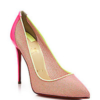 Christian Louboutin - Woven Pumps - Saks Fifth Avenue Mobile