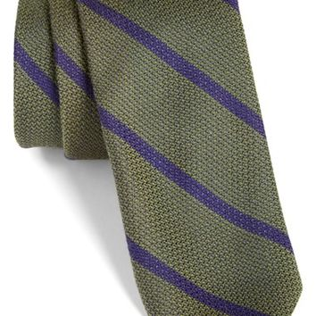 Men's Todd Snyder White Label Stripe Tie, Size Regular