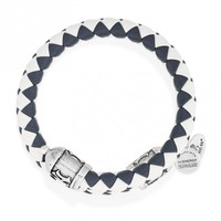 New York Yankees Braided Leather Wrap