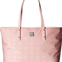 MCM Women's Nylon Zip Top Tote