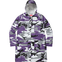 Supreme: Twill Zip Parka - Purple Camo