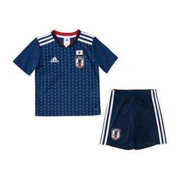 KUYOU Japan 2018 World Cup Home Kids(Youth) Kit Personalized Name and Number