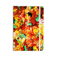 "Ebi Emporium ""Floral Fantasy II"" Orange Yellow Everything Notebook"