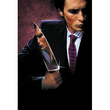American Psycho Textless Movie Poster 16in x24in
