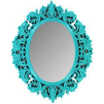 Turquoise Victorian Mirror   Shop Hobby Lobby