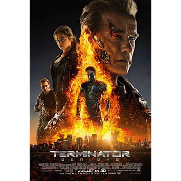 Terminator Genisys (Canadian) 11x17 Movie Poster (2015)