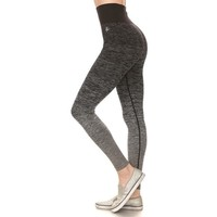 ACTIVEWEAR HI-RISE OMBRE SEAMLESS LEGGINGS