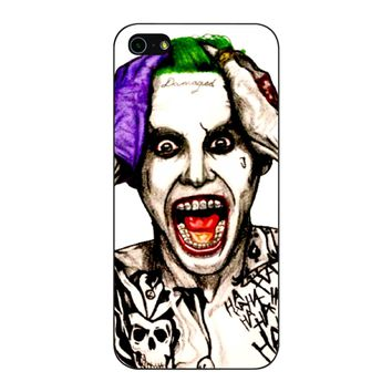 Joker Laugh From Suicide Squad  iPhone 5/5S/SE Case