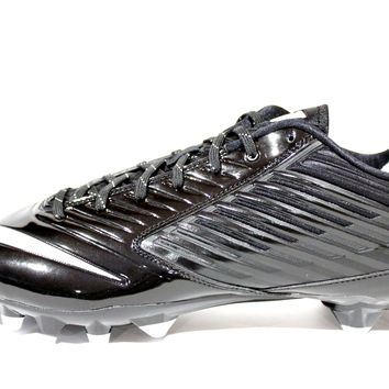Nike Men's Vapor Speed Low TD Black/White Football Cleats 643152 010