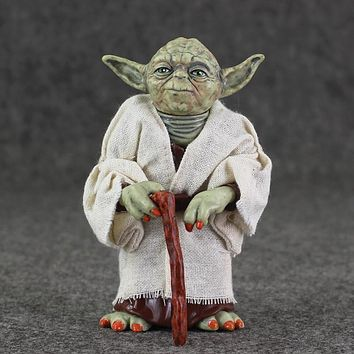 Star Wars 11.5cm Jedi Master Yoda PVC Action Figure Simulation Model Toy Yoda Toy Gift Collection