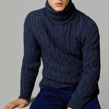 CABLE-KNIT SWEATER - New - MEN - United States of America / Estados Unidos de América