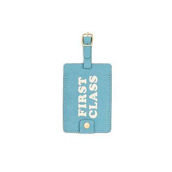 First Class Getaway Luggage Tag
