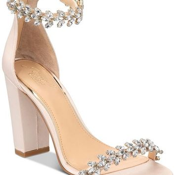 Jewel Badgley Mischka Mayra Evening Sandals Shoes - Sandals & Flip Flops - Macy's