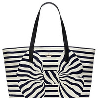 Kate Spade Reid Street Large Ryan Rich Navy/Cream ONE