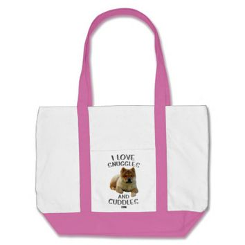 Snuggles Baby Design by Kat Worth Tote Bag