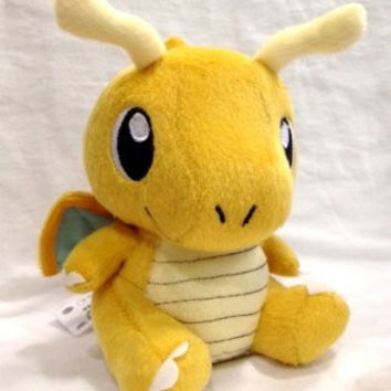"Pokémon Pokemon Plush Dragonite Doll Around 16cm 6"" Yellow, Free"