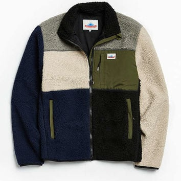 Penfield Mattawa Sherpa Fleece Full Zip Sweatshirt | Urban Outfitters