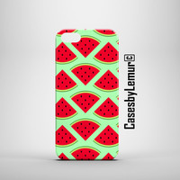 Watermelon Iphone case Iphone 6 case Iphone 5s case Iphone 5 case Iphone 5c case Iphone 6 plus case Samsung s4 case Samsung s5 case mini