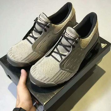 ICIKIJG Adidas Porsche Design Bounce Style Man Training shoes Sports Shoes gray H-CSXY