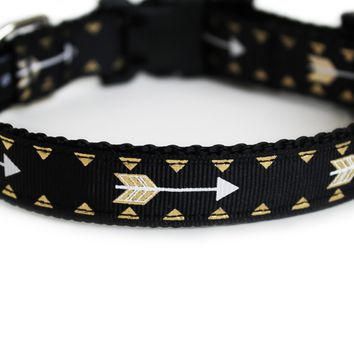 Cupid's Arrow Dog Collar