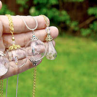 MINI IRIDESCENT BUBBLES in Hand blown glass bead with by Papillon9