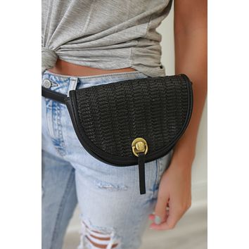 Enjoy the View Belt Bag - Black