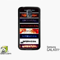 Supernatural Tumblr Samsung Galaxy Case S3, S4, S5 by Avallen