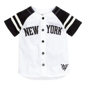 H&M Baseball Shirt $14.99