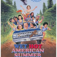 Wet Hot American Summer 27x40 Movie Poster (2001)