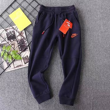 Nike Girls Boys Children Baby Toddler Kids Child Fashion Casual Pants Trousers
