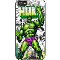 The Incredible Hulk Marvel Comic iPhone 5s For iPhone 5/5S Case