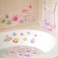 Tea Set Foam Bath Toys | JoJo Maman Bebe