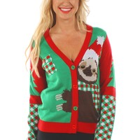 Women's Cuddly Sloth Sweater