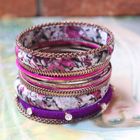 carousel ride bangle set - $19.99 : ShopRuche.com, Vintage Inspired Clothing, Affordable Clothes, Eco friendly Fashion