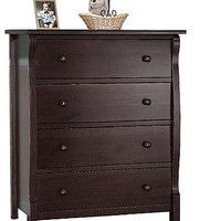 Sorelle Princeton 4-Drawer Chest - Espresso