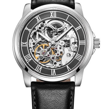 Kenneth Cole New York Men's KC1514 Automatic Gunmetal Silver-Tone Watch With ...