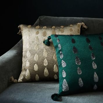 Sequins Teardrop Pillow Covers
