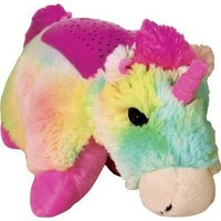 "Amazon.com: Pillow Pets Dream Lites - Rainbow Unicorn 11"": Toys & Games"