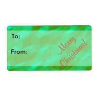 Personalize Green Holiday