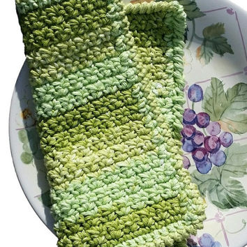 UgLy ScruBBly Handmade Cotton Dish Cloth Kitchen Accessory Crocheted Dishcloth Dishrag Colorful YOUR EXTRAORDINARY KITCHEN Accessory