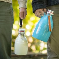 PGC Sprocket Growler (64 oz) with Leather Handle