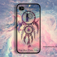 iPhone 5/5s, 5c, 4/4s & Samsung Galaxy S4, S3 cases | Galaxy / Dreamcatcher with Monogram / Keep Your Dream Alive iPhone 5 case