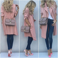 Stylish Long Sleeve Jacket [9342354116]